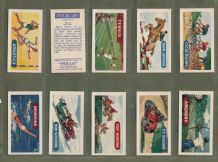 Tobacco Cigarette cards Sports & Games  Golf, boxing, rugby, football, cycling